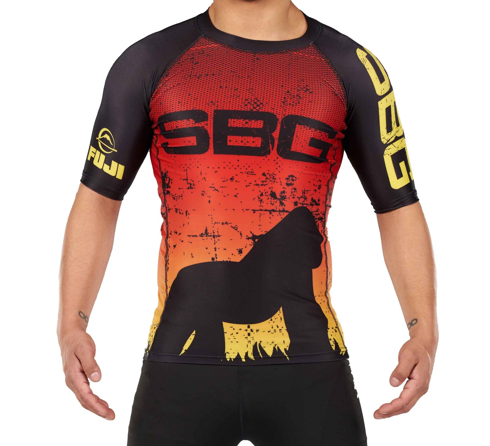 SBG Sunset Adult Shortsleeve Rashguard