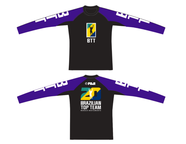 BTT 20th Anniversary Ranked Long Sleeve Women Rashguard