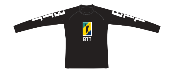 BTT 20th Anniversary Youth Long Sleeve Rashguard