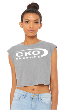 CKO Women's Cropped Tank Top