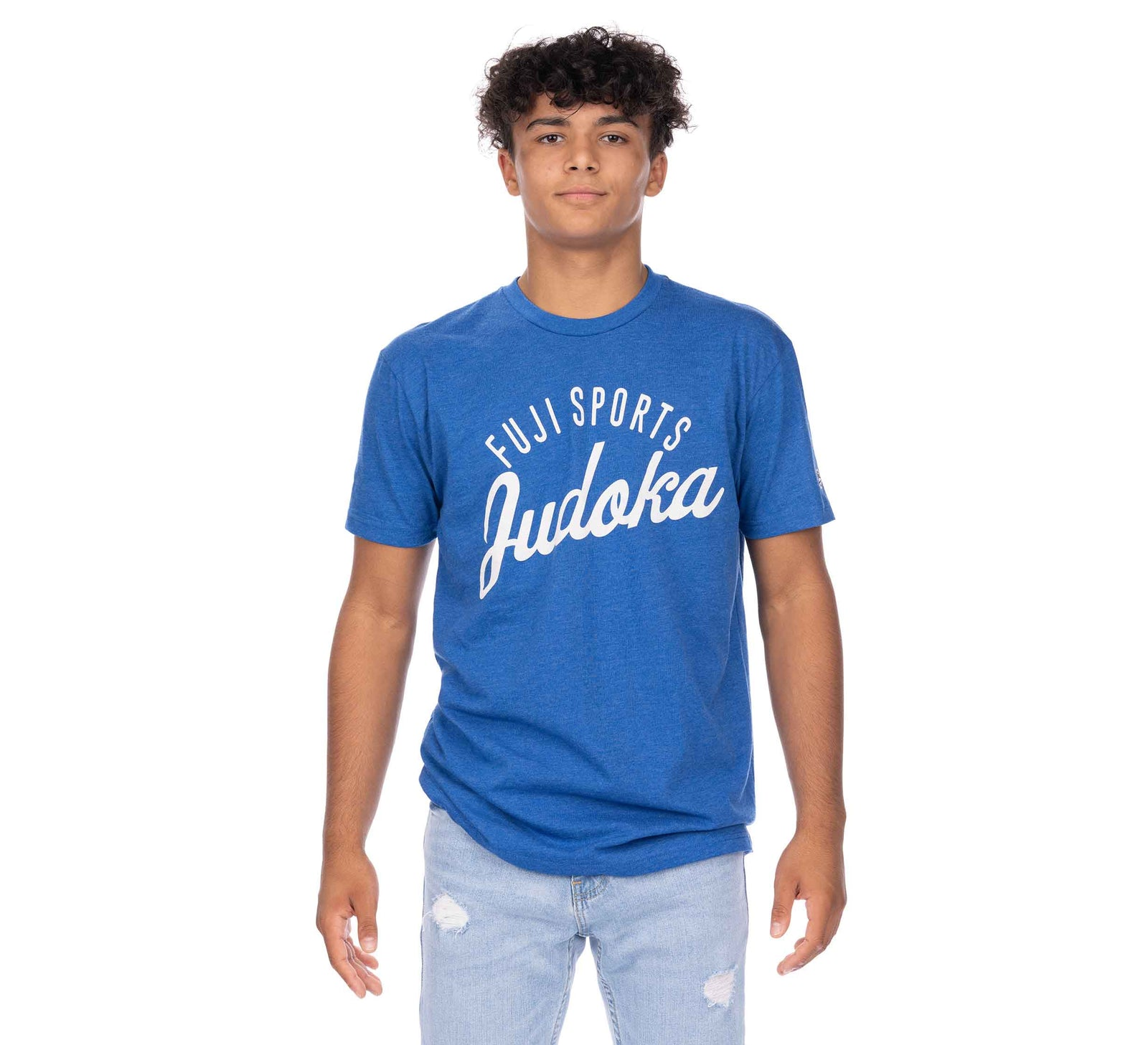 Flow Judo Teen's T-Shirt Blue