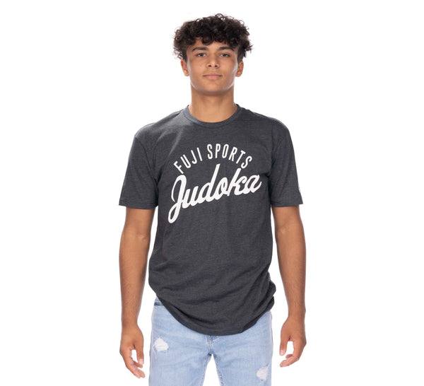 Flow Judo Teen's T-Shirt Grey