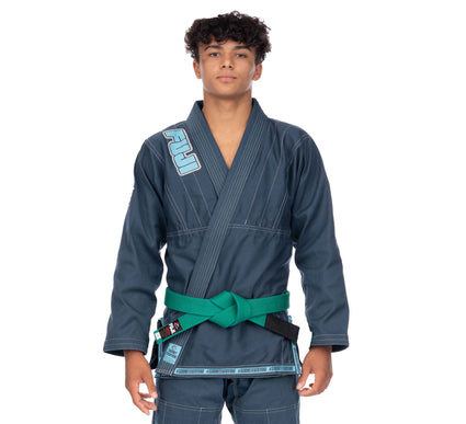 LIMITED EDITION: Submit Everyone Kid's BJJ Gi Teal