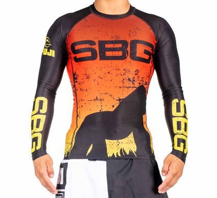SBG Sunset Adult Rashguard