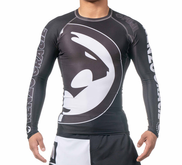 Renzo Gracie IBJJF Ranked Long Sleeve Rashguard