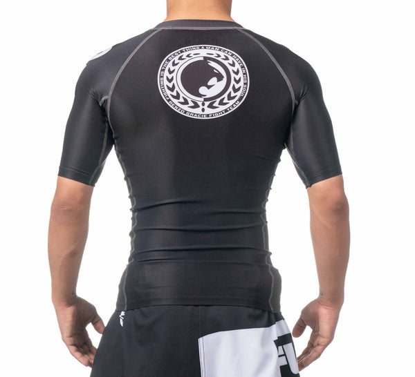 Renzo Gracie IBJJF Ranked Short Sleeve Rashguard