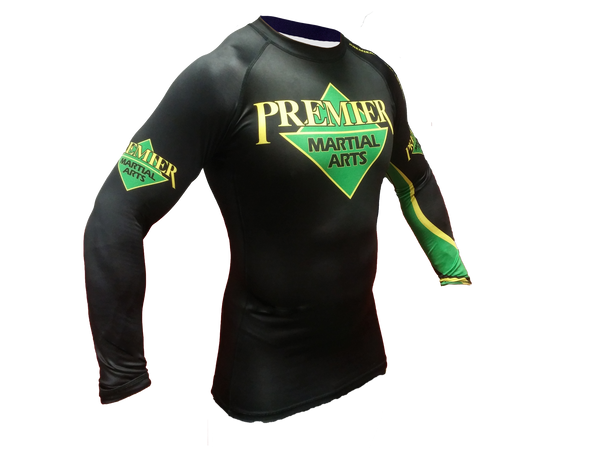 Premier Martial Arts Long Sleeve Kids Rashguard