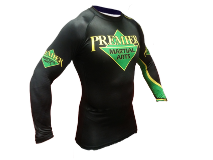 Premier Martial Arts Long Sleeve Womens Rashguard