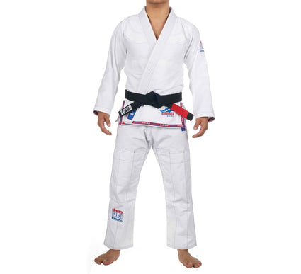 LIMITED EDITION: Suparaito BJJ Gi White