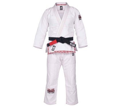 SBG One Tribe White/Red Super Lite Womens Gi