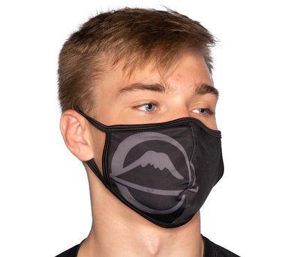 Jiu-Jitsu Facemasks Black - Packs of 5