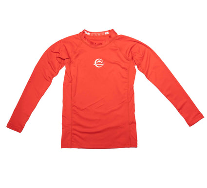 Baseline Kid's Rashguard Red