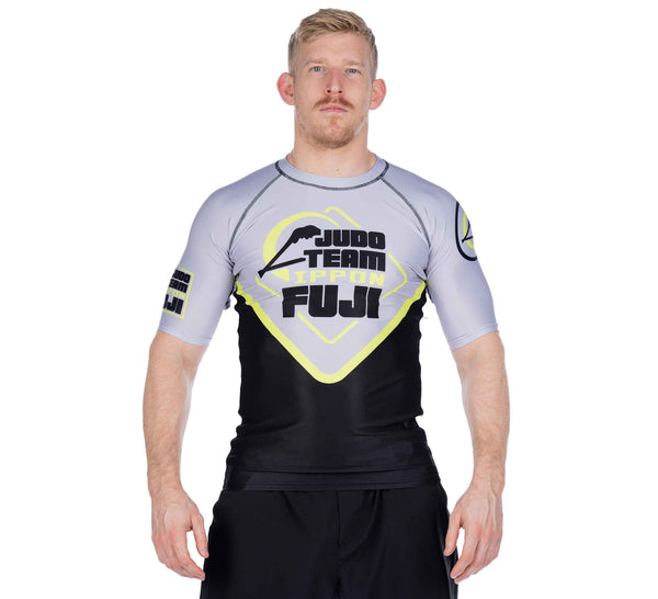 Peak Judo Short Sleeve Rashguard Grey