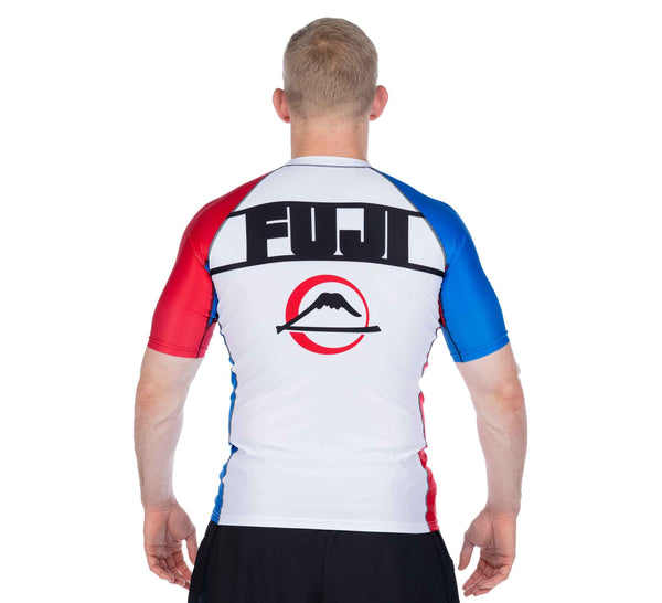 Skyline Judo Short Sleeve Rashguard White