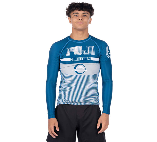 Reversal Judo Long Sleeve Rashguard Blue