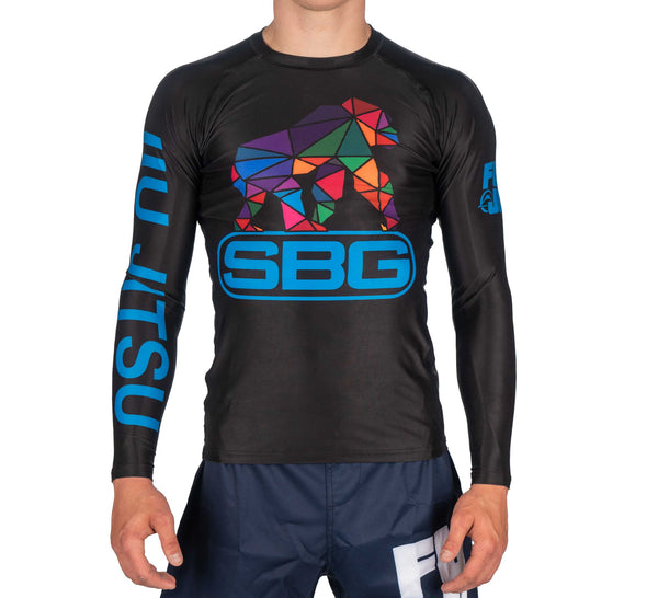 SBG Geo Gorilla Youth Long Sleeve Rashguard