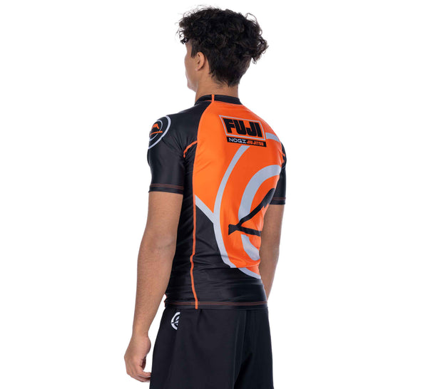 Peak Jiu-Jitsu Short Sleeve Rashguard Orange