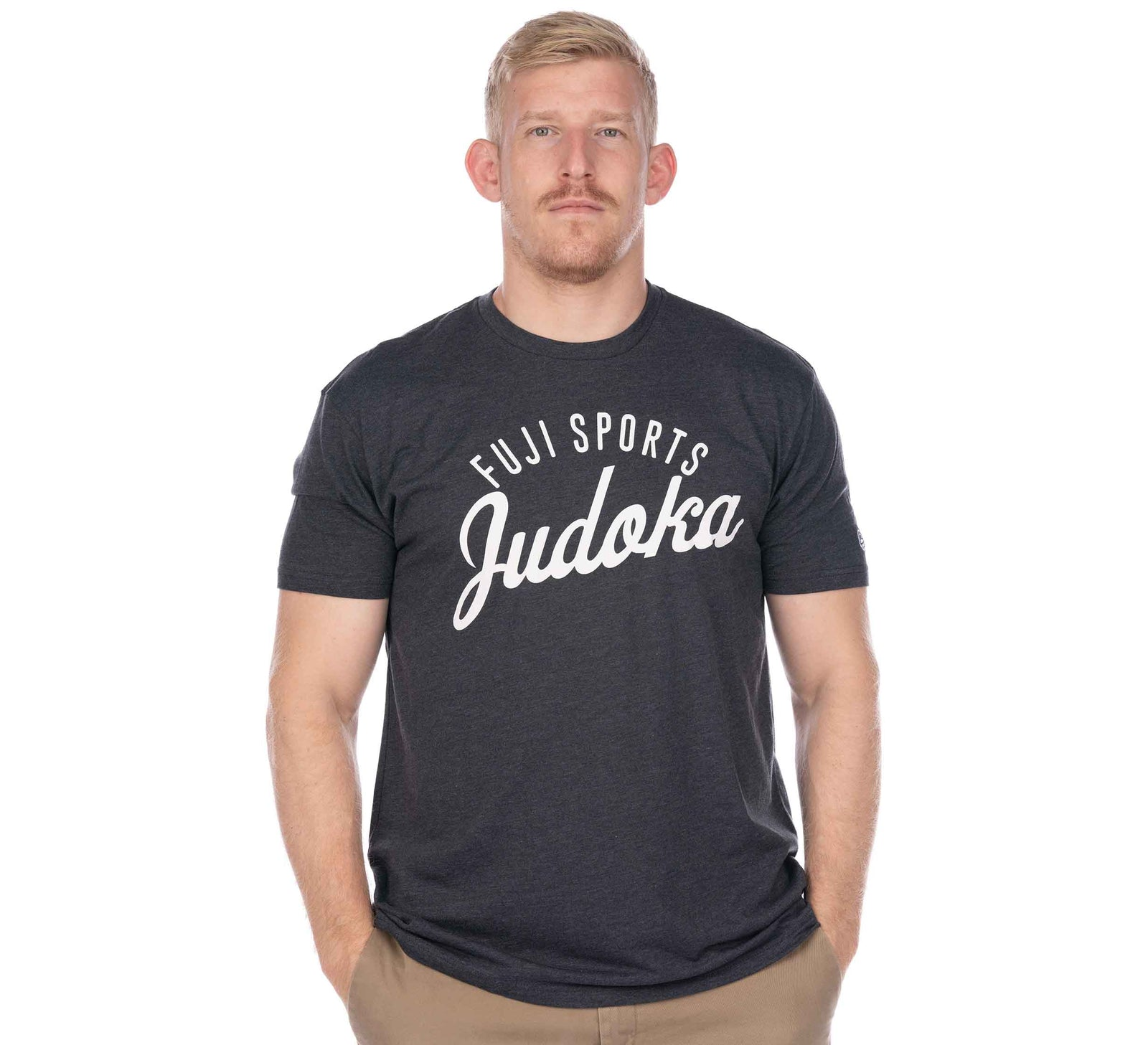 Flow Judo Men's T-Shirt Grey