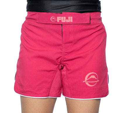 Baseline Womens Pink Grappling Shorts