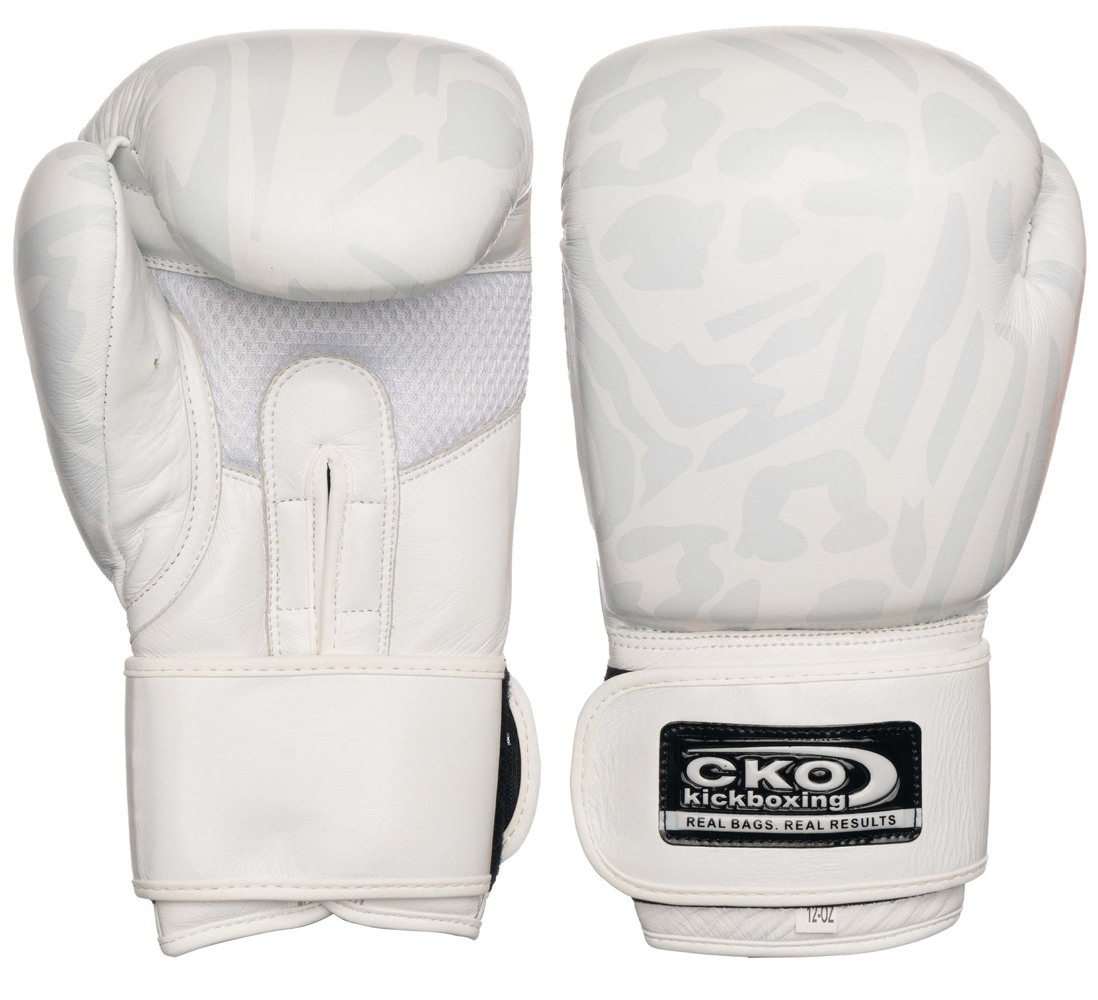 CKO Leather Boxing Gloves Leopard Print
