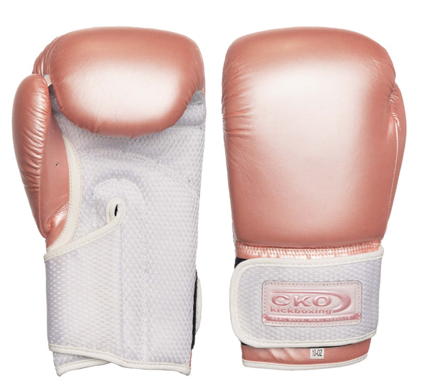 CKO Rose Gold Boxing Gloves