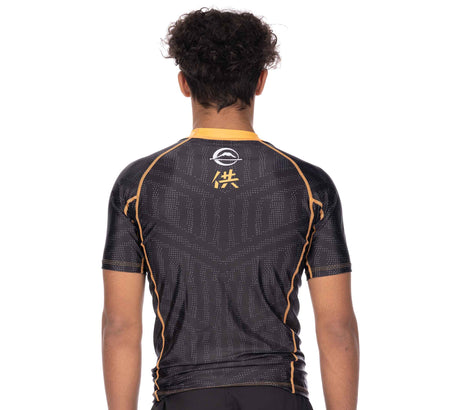 Team FUJI Short Sleeve Rashguard Black