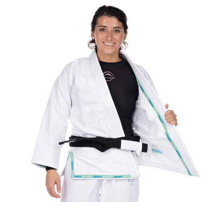 LIMITED EDITION: Suparaito Girl's BJJ Gi Teal