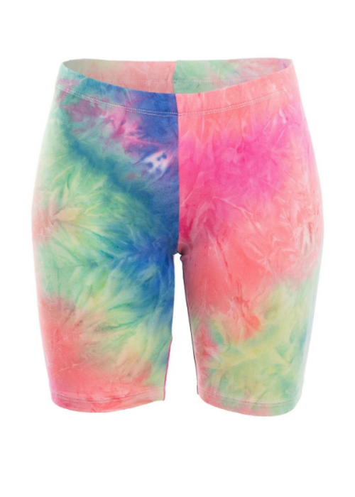 RAINBOW BEHAVIOR BIKER SHORTS