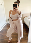 SOFT AS CLOUDS PINK CARDIGAN