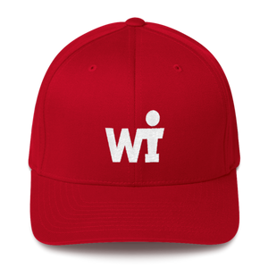 Structured Twill Cap - WIFOOS Logo - White on Color