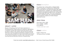 Foundation Discovery Course  with Sam Han March 29-31 2020 Hands On