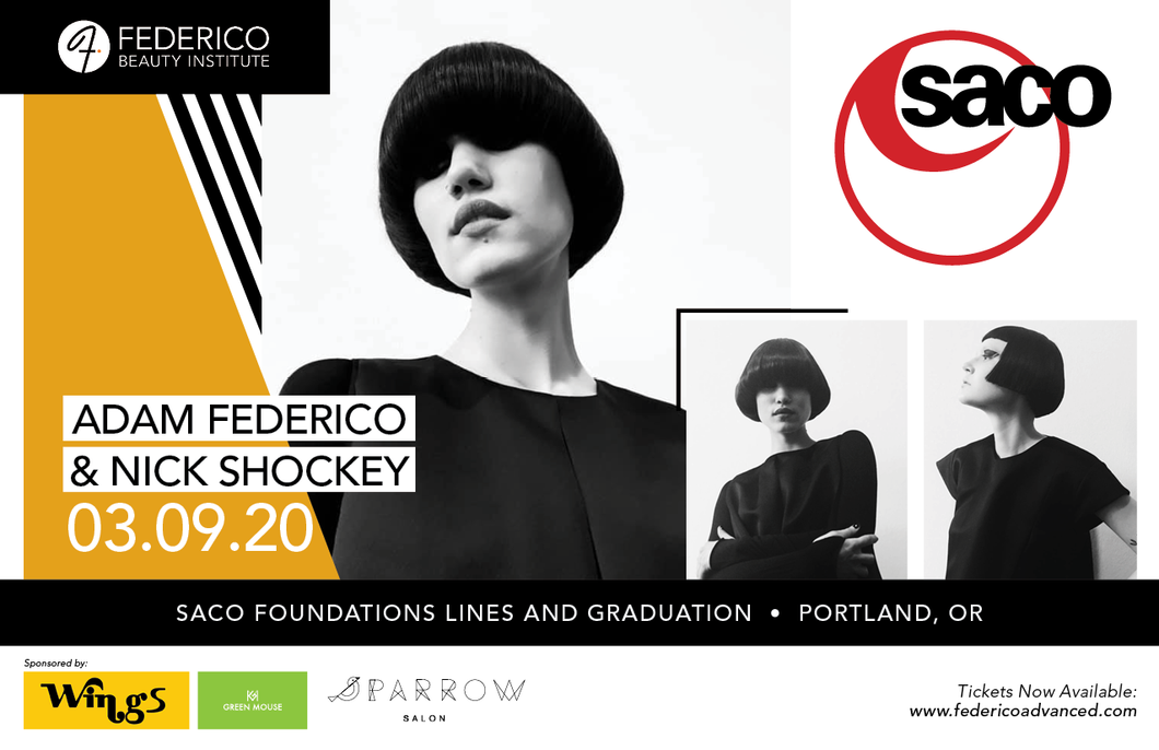 SACO academy March 9th 2020 Lines and Graduation hands on haircutting Course in Portland Oregon