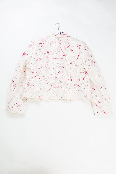 Paint Splash Tux Jacket