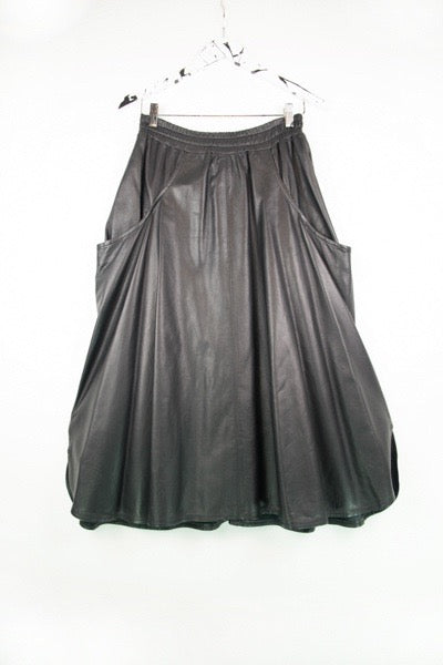 Hell for Pleather Skirt