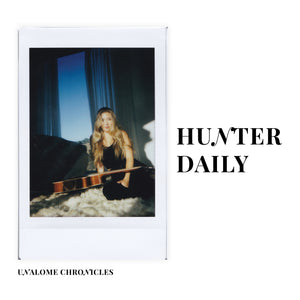 unalome chronicles interview hunter daily, singer-songwriter & actor