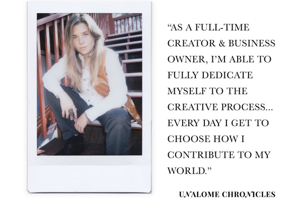 Unalome Chronicles: Bianca Greene, Mixed-Media Artist