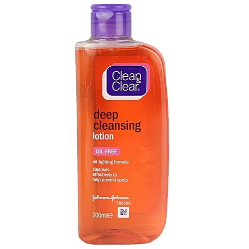 Acne and products for its control Beautizone UK - Clean & Clear Deep Cleansing Oil Free Lotion