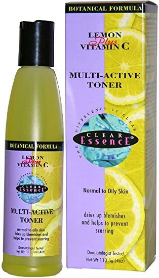 Acne and products for its control Beautizone UK - Clear Essence Lemon Plus Vitamin C Multi-Active Toner