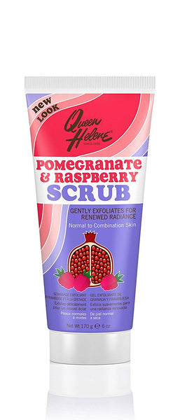 Acne and products for its control Beautizone UK - Queen Helene Pomegranate & Raspberry Facial Scrub