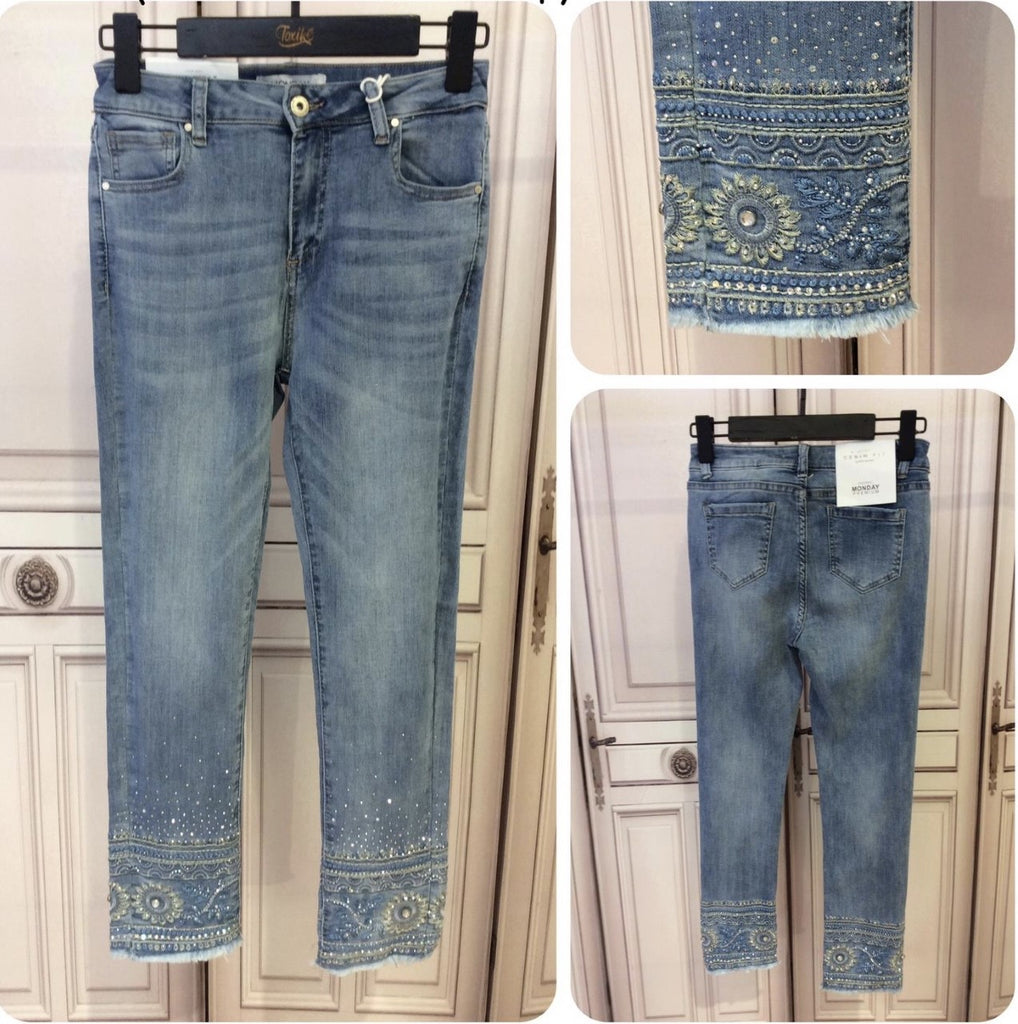 PANTALON-Pantalón vaquero India New