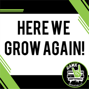 Here we grow again!