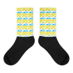 Beach Yellow Double R Socks