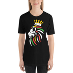 Black Rasta Lion Shirt