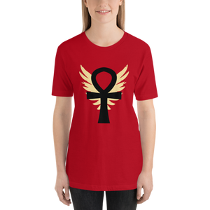 Cinnamon Winged Ankh T-Shirt