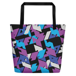 Rebellious Retro | Beach Bag