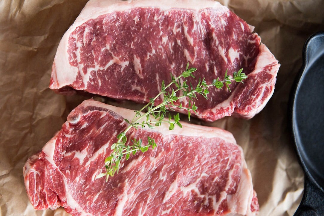 Dry Aged New York Strip (Pack of 2 Steaks)