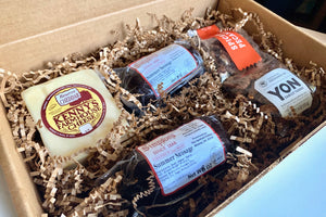 Classic Summer Sausage & Cheese Gift Box