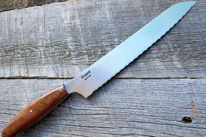 Brisket Slicer Knife - Simpson Farms 100+ Year-Old Black Walnut