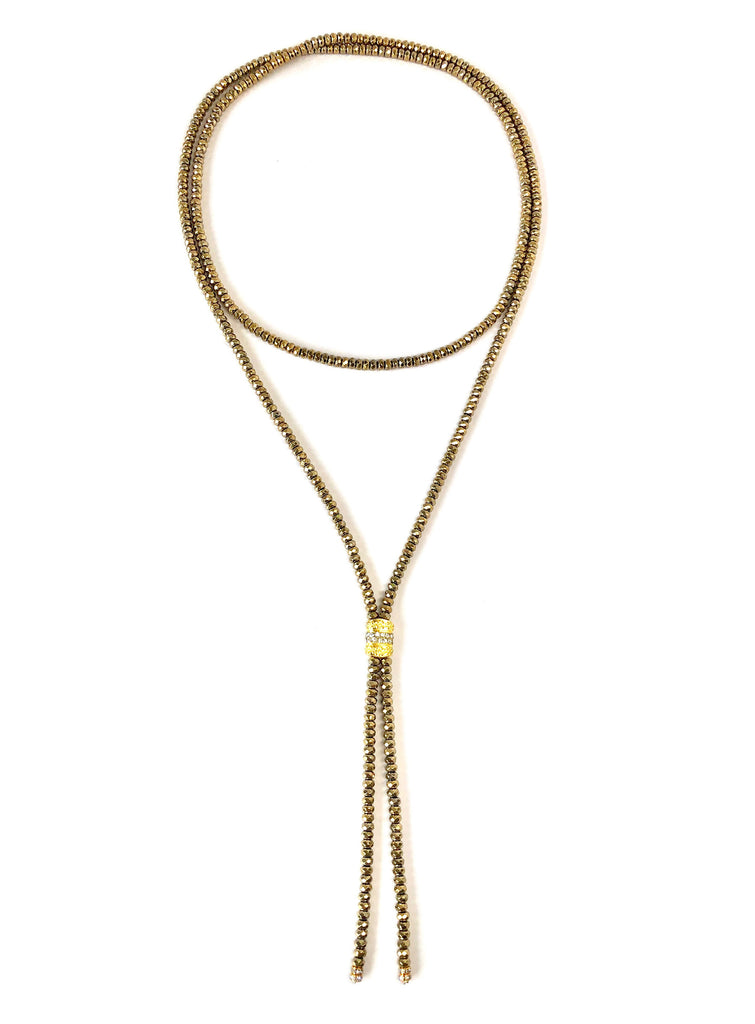 Long Susan Single Strand Necklace