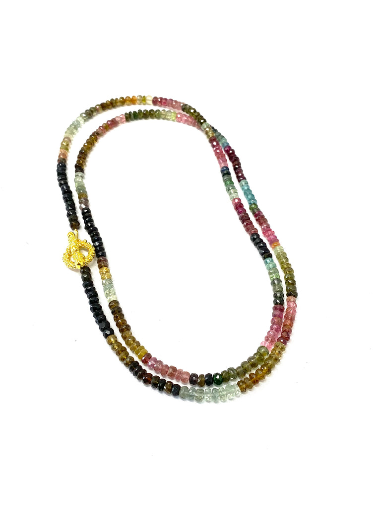 Tourmaline Toggle Necklace